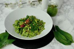Vegan Wild Garlic Pesto