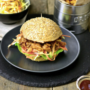 Pulled Jackfruit Burger
